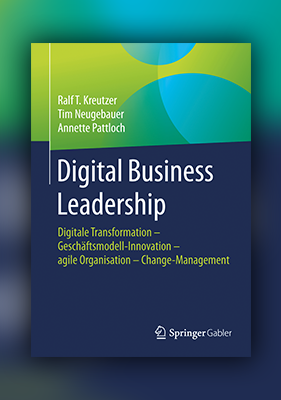 Buchcover Digital Business Leadership