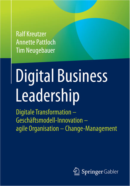 Buchcover Fachbuch Digital Business Leadership