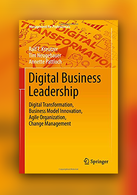 Buchcover Digital Business Leadership (Englisch)