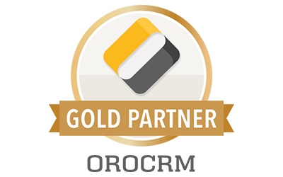 Logo OroCRM Gold Partner