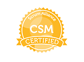 Logo Member CSM Scrum Alliance